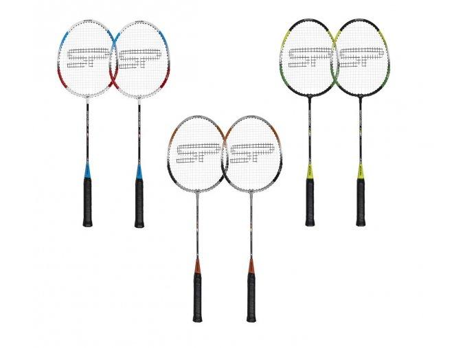 Spokey FIT ONE II Sada na badminton - 2 rakety
