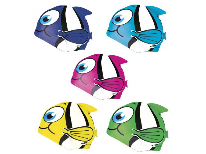 Spokey RYBKA Dětská plavecká čepice
