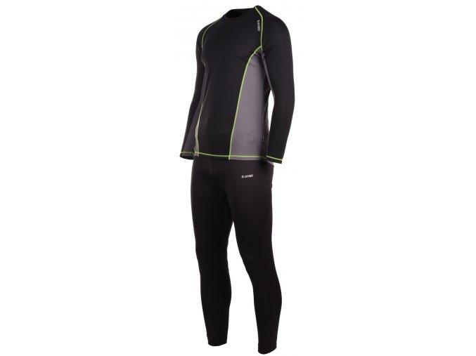 HI-TEC Kamo Set termoprádlo - pánské funkční triko a kalhoty