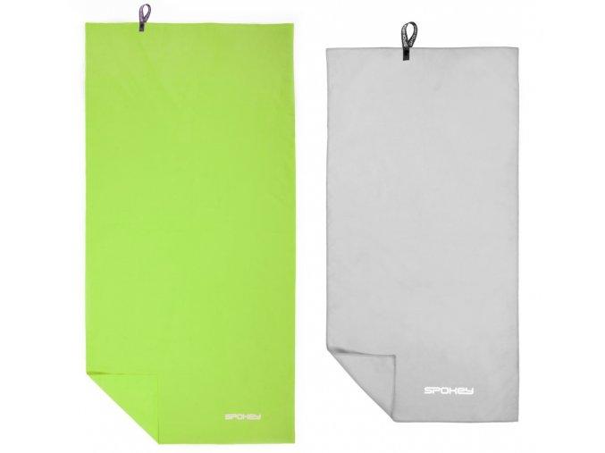 Spokey SIROCCO M Rychleschnoucí ručník 40x80 cm, s odnímatelnou sponou