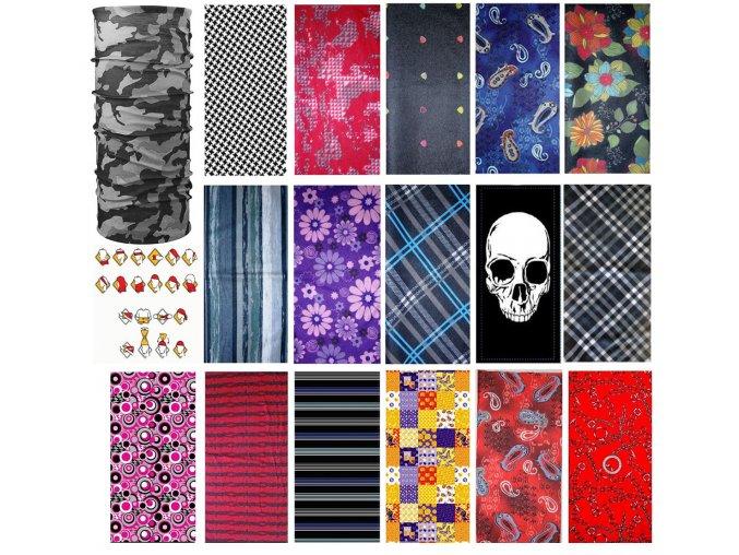 Mercox Multifunkční šátek