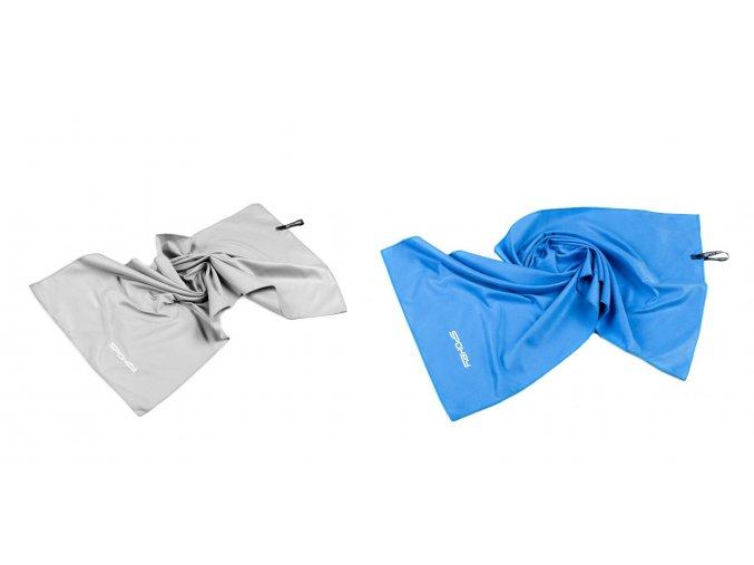 Spokey SIROCCO L Rychleschnoucí ručník 60x120 cm, s odnímatelnou sponou