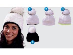 Pletex 470 dámská pletená zimní čepice