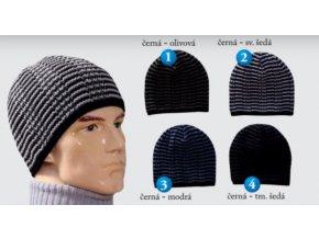 Pletex M501 pánská pletená zimní čepice