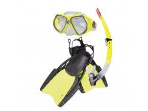Spokey REEF-Sada brýle+šnorchl+ploutve
