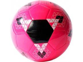 ADIDAS STARLANCER V AO4903, míč fotbalový růžový vel. 5