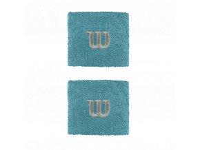 Wilson Wristband W Blue sportovní potítka