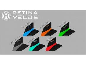 Harrows Velos Retina náhradní letky k šipkám