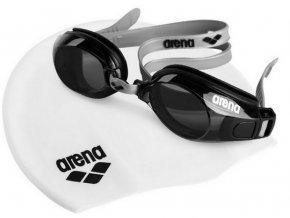 Arena POOL SET 5 plavecké brýle a plavecká čepice