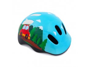Spokey TRIP Dětská cyklistická přilba, 44-48 cm