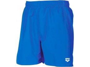 Arena FUNDAMENTALS BOXER pix blue/white pánské koupací šortky