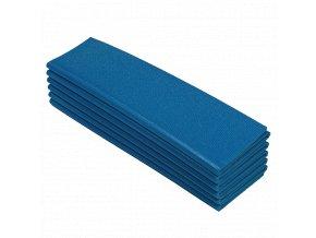 Yate Karimatka jednovrstvá 8 skládací 12D modrá B66