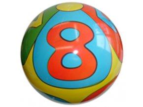 Gumový potištěný míč Abeceda