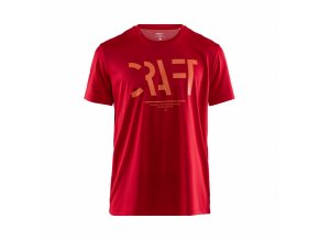 CRAFT Eaze Mesh 1907018 pánské triko červené