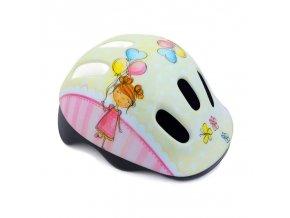 Spokey BALLOON Dětská cyklistická přilba, 44-48 cm