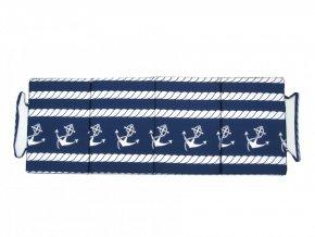 Skládací plážové molitanové lehátko Trieste-49 165x60x3 cm