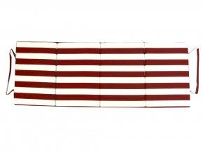 Skládací plážové molitanové lehátko Trieste-22 165x60x3 cm