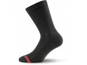 Lasting TSR funkční bambusové ponožky černé