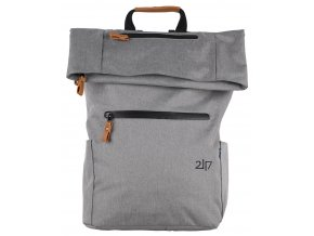 2117 NISSAFORS batoh, šedý melír