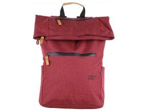 2117 NISSAFORS batoh, vín. červený
