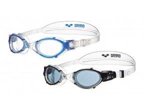 Arena NIMESIS CRYSTAL LARGE plavecké brýle
