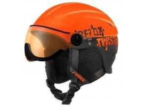 Relax TWISTER VISOR RH27D dětská/juniorská lyžařská helma
