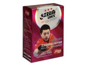 DHS*** míčky na stolní tenis CELL FREE DUAL ***40mm balení 6 ks