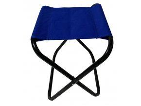 Acra Skládací sedátko 33x25x37cm modré C6