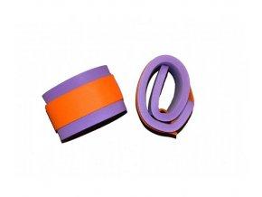Matuška Dena Nadlehčovací rukávky (pár) - oranžový zip 550x100x15mm