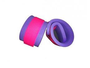 Matuška Dena Nadlehčovací rukávky (pár) - růžový zip 550x100x15mm