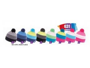 Capu 631 dětská pletená zimní čepice