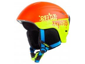 Relax TWISTER RH18A7 dětská/juniorská lyžařská helma