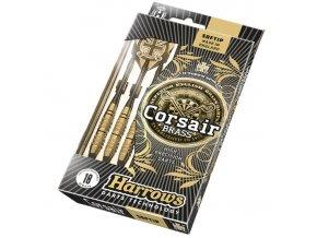 HARROWS SOFT CORSAIR šipky s plastovým hrotem černá