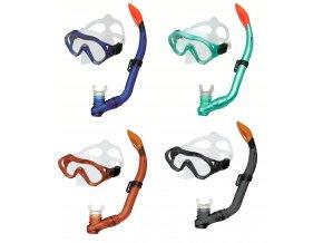 Spokey CAYMAN JUNIOR Sada brýle+šnorchl