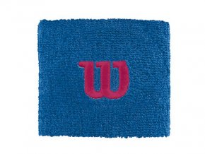 Wilson Wristband W Imperial Blue sportovní potítka
