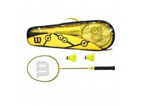 Wilson MINIONS BADMINTON SET 2 badmintonová sada
