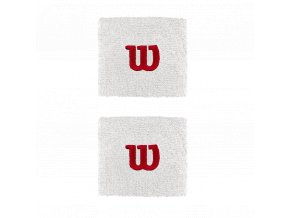 Wilson Wristband W White sportovní potítka