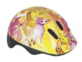Spokey GIRAFFE - Dětská cyklistická přilba