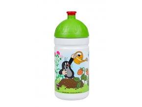 Zdravá lahev Krtek a jahody 0,5l - zelené