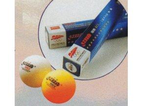 DOUBLE HAPPINESS 2 star ** míčky na stolní tenis 6 ks