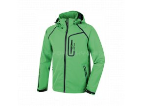 Husky Badis pánská softshellová bunda zelená