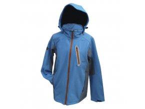 Mercox Chamonix pánská softshellová bunda modrá
