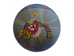 Acra Basketbalový míč s potiskem vel. 7