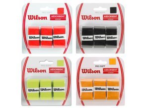Wilson Pro Soft Absorbent Overgrip 3 ks tenisové omotávky