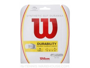 Wilson Synthetic Gut DuraMax 16 tenisový výplet