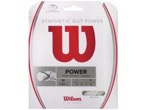 Wilson Synthetic Gut Power 15 tenisový výplet