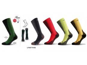 Lasting WSM merino ponožky
