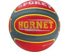 Spokey HORNET Míč na košíkovou červený 7