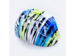 Spokey PRISM - Dětská cyklistická přilba 44-48 cm