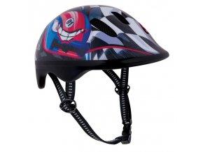 Spokey BIKER RALLY Dětská cyklistická přilba 44-48 cm